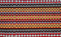 Hand woven kilim pattern Royalty Free Stock Photo