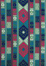 Hand woven textile background, Bhutan Royalty Free Stock Photos