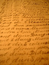 Hand-written II Royalty Free Stock Photo