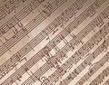 Hand Written Music Royalty Free Stock Photos