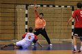 Handball goal Royalty Free Stock Photography