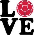 Handball Love Royalty Free Stock Photo