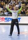 Handball player Daniel Saric Royalty Free Stock Photo
