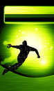 Handball shot background space poster web leaflet magazine Royalty Free Stock Images