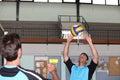 Handball team Royalty Free Stock Photo