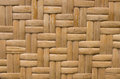 Handcraft of bamboo weave pattern texture thai Stock Images