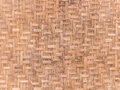 Handcraft bamboo weave texture for background Royalty Free Stock Photos