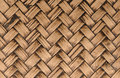 Handcraft bamboo weave texture for background Stock Photo