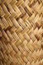 Handcraft mexican cane basketry vegetal texture Royalty Free Stock Photo