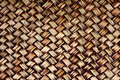 Handcraft weave natural wicker texture Royalty Free Stock Photography
