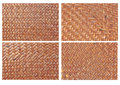 Handcraft weave texture Stock Photo