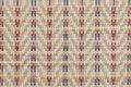 Handcraft weave texture thai sedge mat background Royalty Free Stock Photo