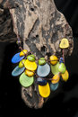 Handcrafted jewelry handmade in ecuador with tagua Stock Photos