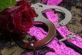 Handcuffs Royalty Free Stock Photo