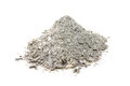 a handful of wood ash gray Royalty Free Stock Photo