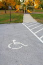 Handicap access to playground Royalty Free Stock Photography
