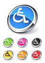 Handicap icon Stock Photos