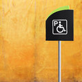 Handicap Parking Sign Royalty Free Stock Image