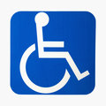 Handicap sign. Stock Photography