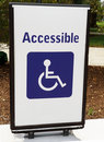 Handicapped Access Sign Stock Photos