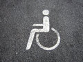 Handicapped  (6) Royalty Free Stock Photo