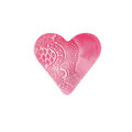 handicraft Heart plasticine love