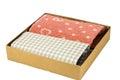 Handkerchief isolated in the box Stock Photo