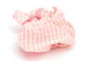 Handkerchief white background Royalty Free Stock Photo