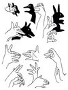 Handkupa Arkivfoto