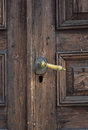 Handle knocker Royalty Free Stock Image