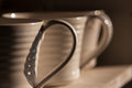 Handle of mug Royalty Free Stock Photo