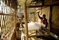 Handloom worker