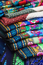 Handmade bai minority textiles Royalty Free Stock Images