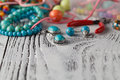 Handmade Bead making accessories Royalty Free Stock Photo