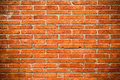 Handmade brick wall making background Stock Photo