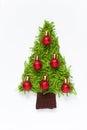 Handmade Christmas tree Royalty Free Stock Photo