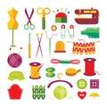 Handmade Colorful Icons Set