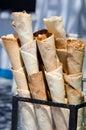 Handmade ice cream cones Royalty Free Stock Photo