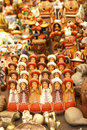 Handmade Indian dolls, Pisac market Royalty Free Stock Images
