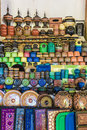 Handmade lacquer ware the pattern of in myanmar Stock Image