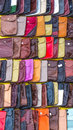 Handmade leather satchel Royalty Free Stock Image