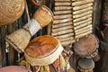 Handmade musical instruments Royalty Free Stock Photo