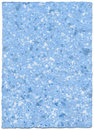 Handmade paper - skyblue Royalty Free Stock Photo