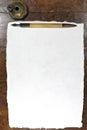 Handmade paper Royalty Free Stock Photo