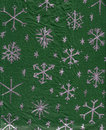 Handmade Snowflake Wrapping-Paper Royalty Free Stock Photography