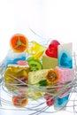 Handmade soap bars Royalty Free Stock Photo