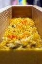 Handmade soap with calendula herbals flowers Royalty Free Stock Photo