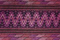 Handmade woven textile from latin america colorfull traditional Stock Photography
