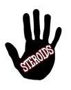 Handprint steroids