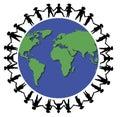 Hands Around World 1